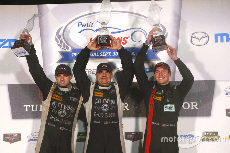 PC class winners ##52 PR1 Mathiasen Motorsports Oreca FLM09: Mike Guasch, Tom Kimber-Smith, Andrew Palmer