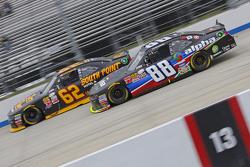 Brendan Gaughan, Річард Чілдресс Racing Chevrolet та Ben Rhodes, JR Motorsports Chevrolet
