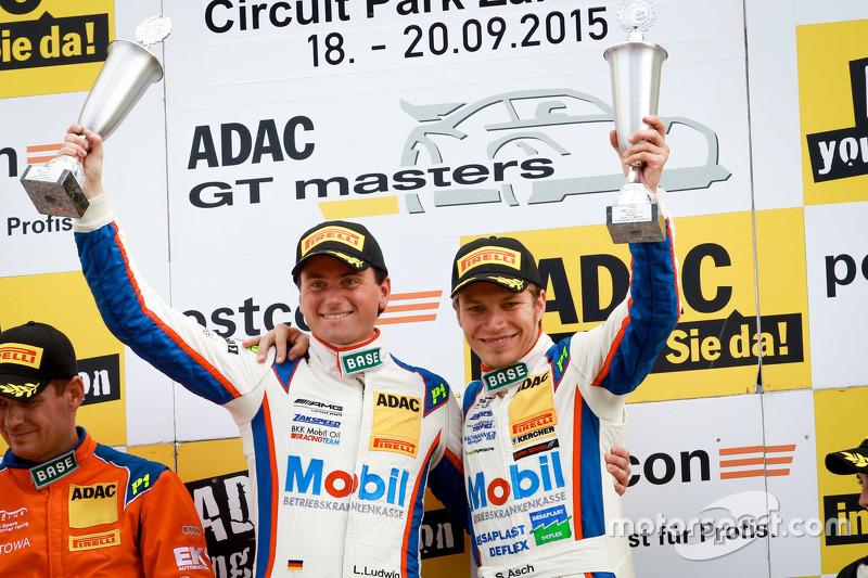 GT-Masters: Sebastian Asch (Deutschland), Luca Ludwig (Deutschland)