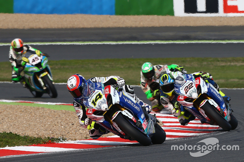 Randy de Puniet und Alex Lowes, VOLTCOM Crescent Suzuki