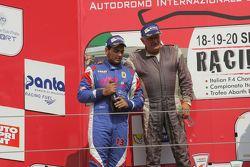 Podio Gara 1: Danny Molinaro, Progetto Corsa e Claudio Francisci, SCI