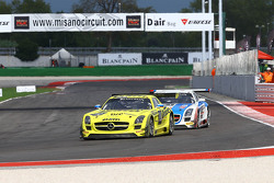 #70 GT Russian Team Mercedes SLS AMG GT3: Alexei Karachev, Marko Asmer