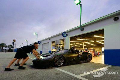 Test Ford GT al Daytona International Speedway