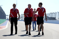 John Booth, Team Principal, Manor F1 Team, Graeme Lowdon, Manor Marussia F1 Team Chief Executive Off