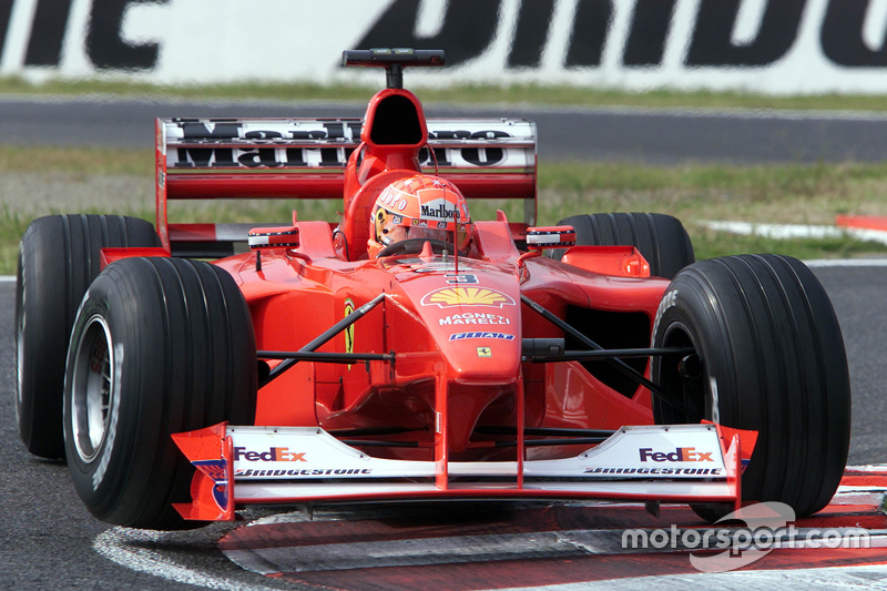2000 Japanese GP, Ferrari F1-2000