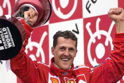 Juara balapan, dan Juara Dunia musim 2000, Michael Schumacher, Ferrari