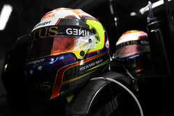 Шлемы Пастора Мальдонадо, Lotus F1 Team