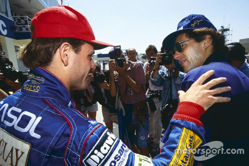 Barrichello e Senna