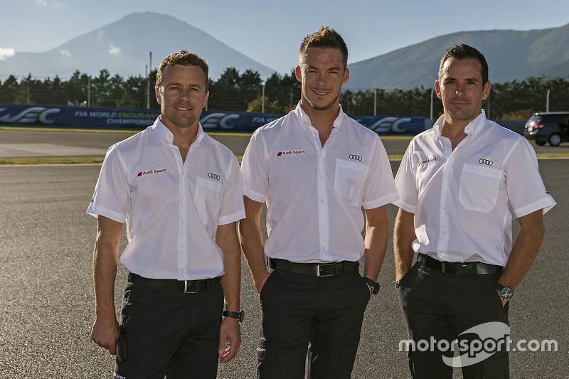 Марсель Фаслер, Андре Лоттерер, Бенуа Треліє, Audi Sport Team Joest