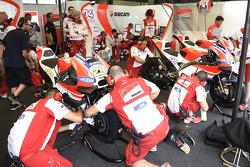 Ducati територія команди