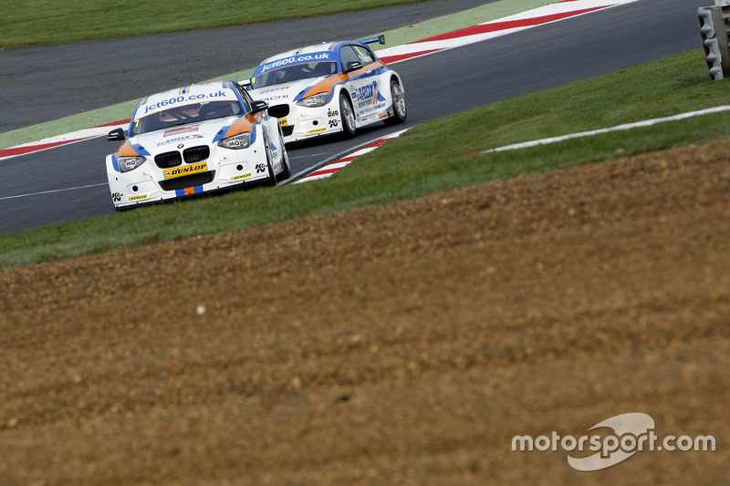 Sam Tordoff, & #6 Rob Collard, Team JCT600 with GardX BMW 125i MSport