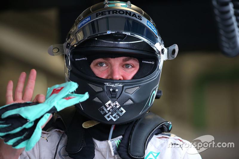 Polesitter Nico Rosberg, Mercedes AMG F2