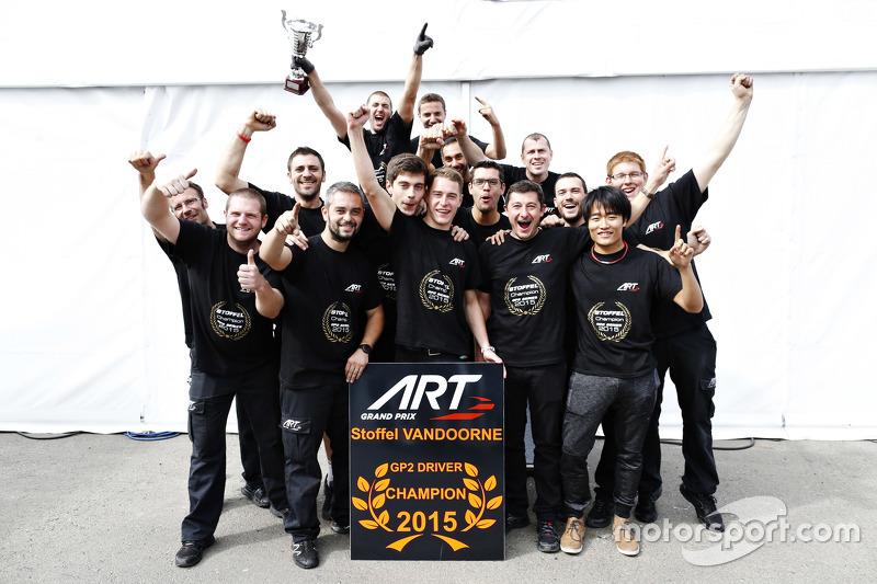 Чемпион 2015 года - Стоффель Вандорн, ART Grand Prix