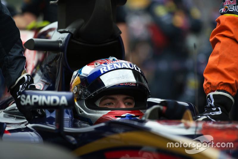 Макс Ферстаппен, Scuderia Toro Rosso STR10на стартовій решітці