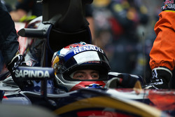 Max Verstappen, Scuderia Toro Rosso STR10 on the grid