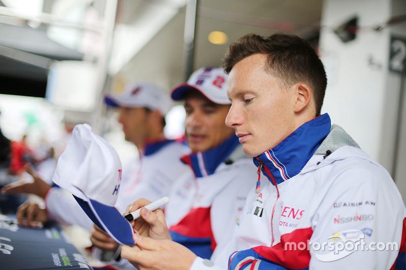 Майк Конвей, Toyota Racing