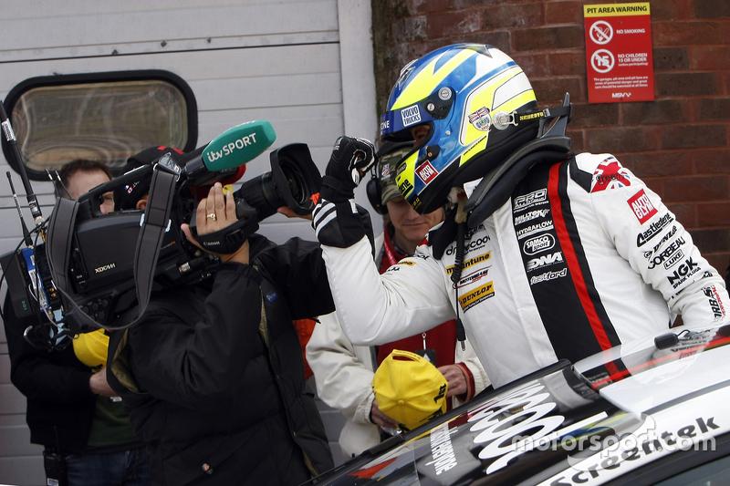 Race 1 Winner Mat Jackson, Motorbase Performance Ford Focus