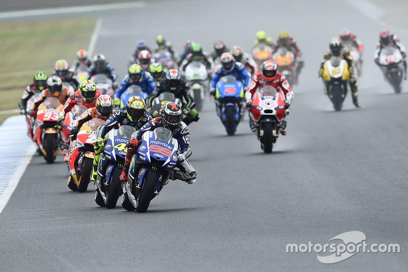 Inicio: Jorge Lorenzo, Yamaha Factory Racing