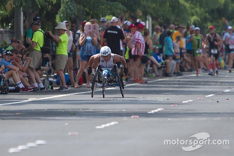 Alex Zanardi en el Ironman de Hawaii