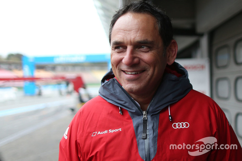 Hans-Jürgen Abt, Head of Audi Sport Team Abt Sportsline