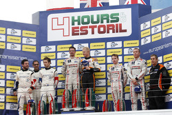 Podium LMP3 : Michael Simpson, Gaëtan Paletou, Team LNT, Eric Trouillet, Garry Findlay, Thomas Accary, Graff Racing, Chris Hoy, Charlie Robertson, Team LNT