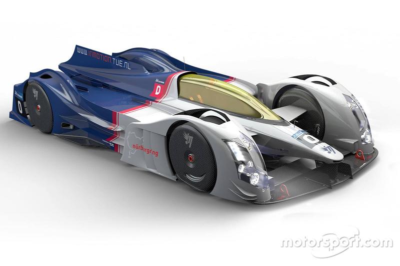 تصميم مستقبلي لسيارة لومان إن موشن
