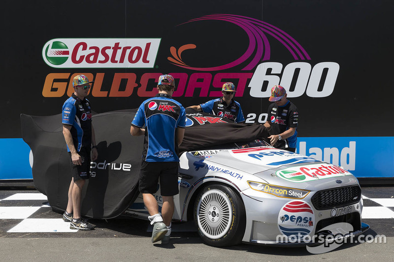 Prodrive Racing Australia Ford: Die Fahrer enthüllen eine Sonderlackierung zu