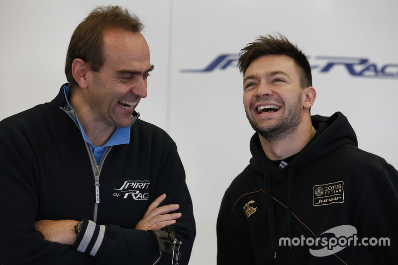 Матьо Ваксівьєр, Spirit of Race з Amato Ferrari