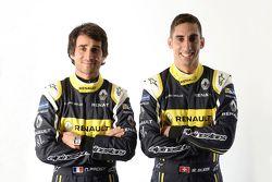 I piloti Nicolas Prost e Sébastien Buemi, Renault e.dams