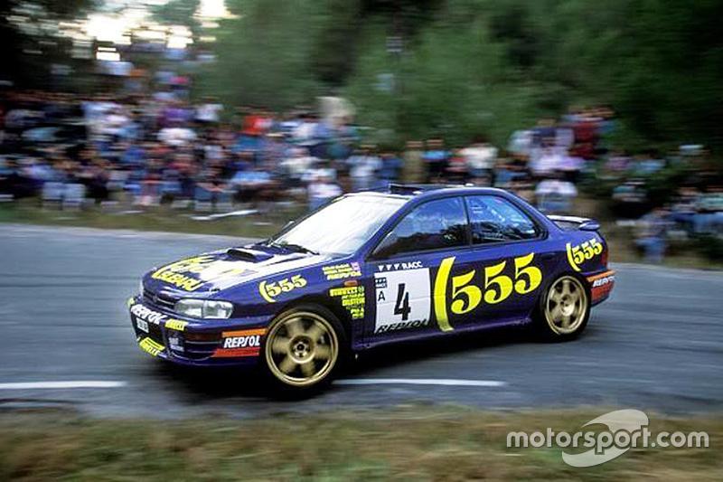 555 и Subaru