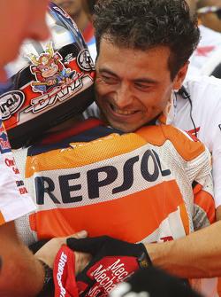 Ganador de la pole Dani Pedrosa, Repsol Honda Team