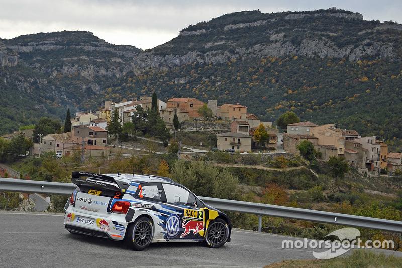 4. Jari-Matti Latvala and Miikka Anttila, Volkswagen Polo WRC, Volkswagen Motorsport
