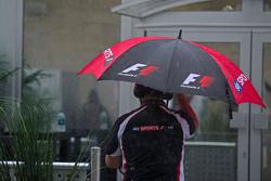 Sky Sports F1 umbrella