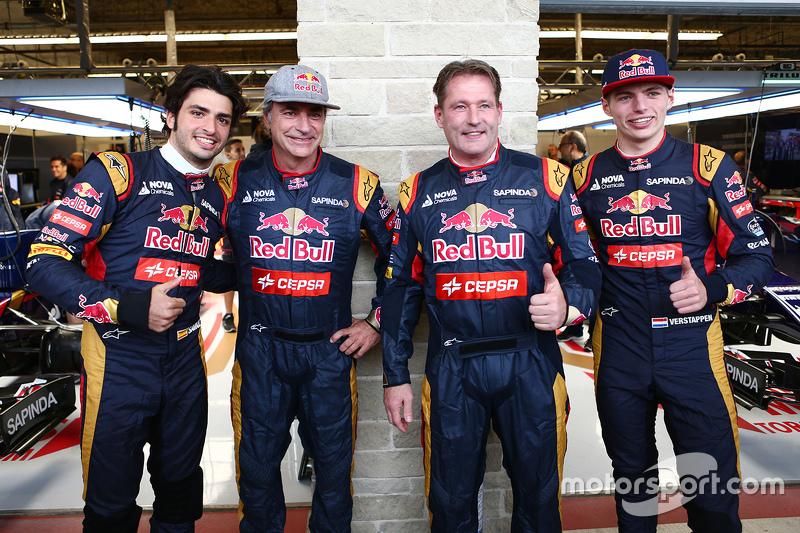 GP Estados Unidos 2015. Los Verstappen, 'compañeros' de equipo