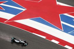 Nico Rosberg, Mercedes AMG F1 W06 nella sessione di qualifica
