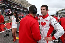 Александр Росси, Manor Marussia F1 Team на стартовой решетке