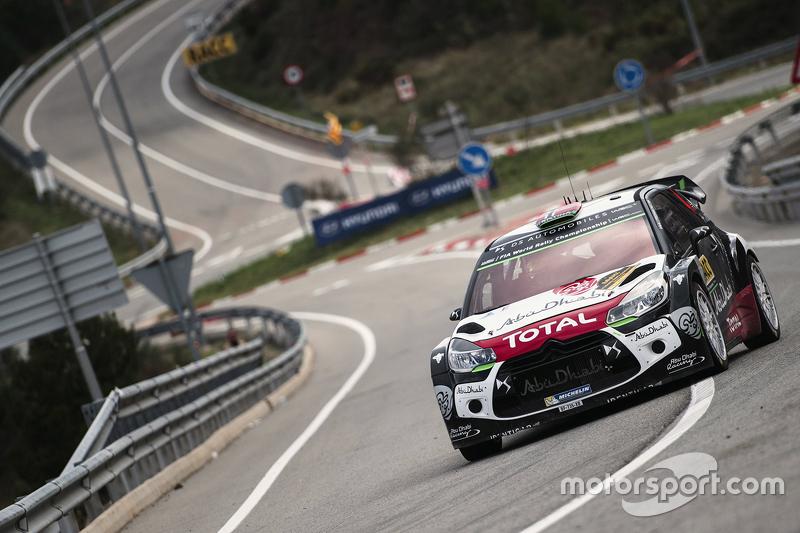 Медс Остберг та Йонас Ендерсон, Citroën DS3 WRC, Citroën World Rally Team