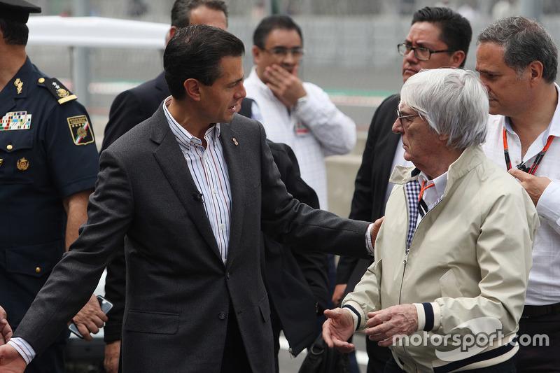 إنريكي نييتو، الرئيس المكسيكي وبيرني إكليستون