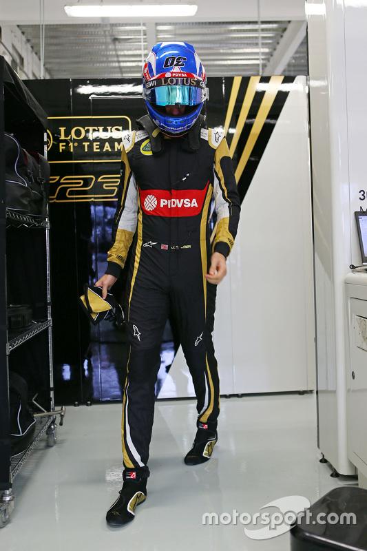 Jolyon Palmer, Lotus F1 Team reserve- en testrijder