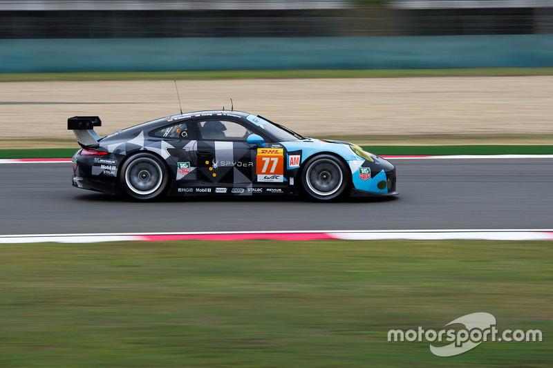 #77 Dempsey Proton Competition Porsche 911 RSR: Патрік Демпсі, Патрік Лонг, Марко Зіфрід