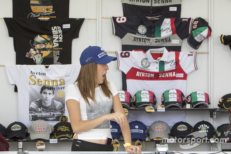 Merchandise at the track