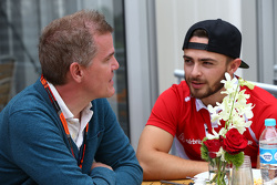 Alexander Rossi, Manor Marussia F1 Team with Ian Parkes, Autosport Chief Formula 1 Correspondent
