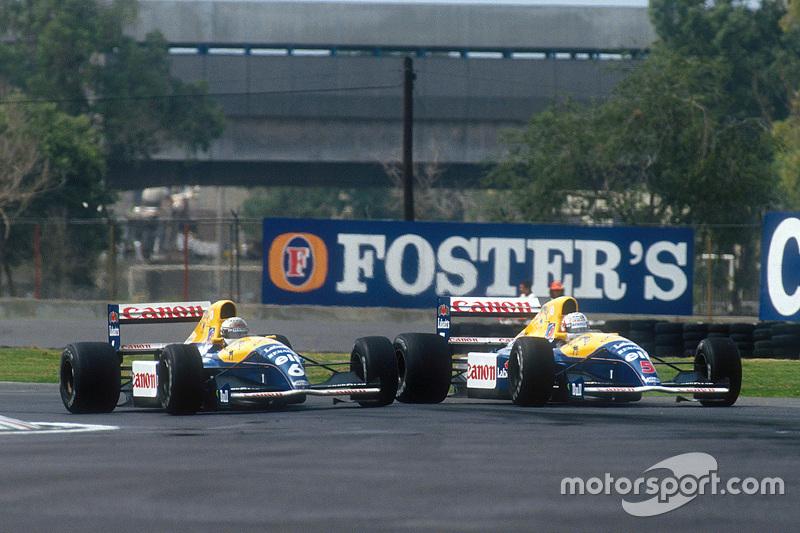 1991: Riccardo patrese, Williams FW14 Renault