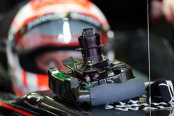 Jenson Button, McLaren MP4-30 - stuurwiel