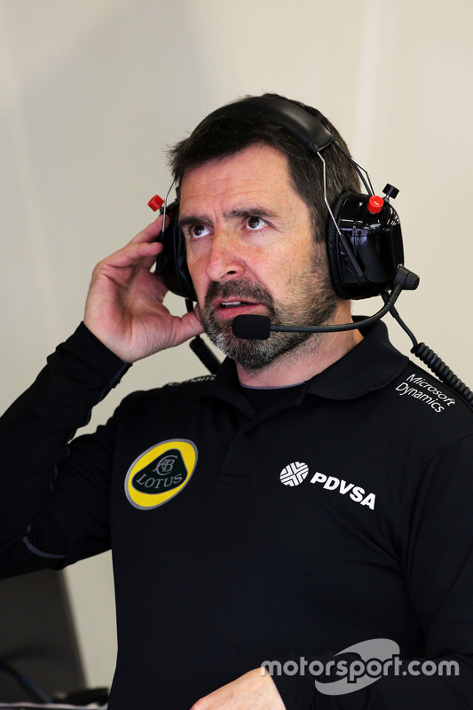Greg Baker, Lotus F1 Team Chief Mechanic