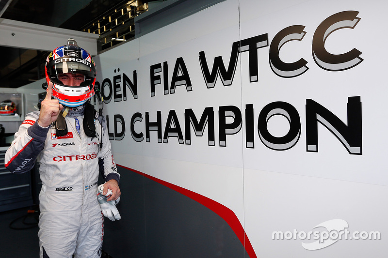 José María López, Campeón 2015, Citroën C-Elysée WTCC, Citroën World Touring Car team