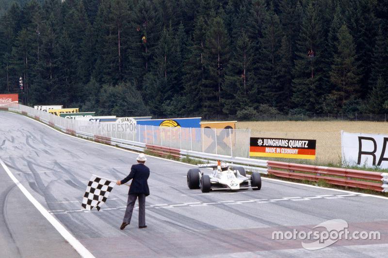 Alan Jones remporte le GP d'Allemagne 1979