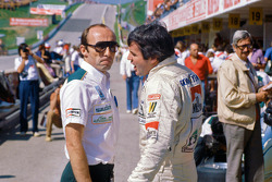 Frank Williams with Alan Jones, Williams