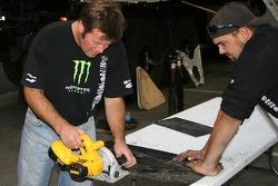 Team Dakar USA: Robby Gordon and Team Dakar USA gets ready for the Dakar at their shop in Anaheim, California