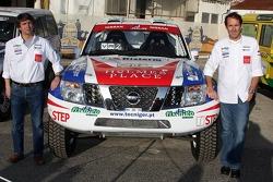 Mundo Dakar event: Pedro Grancha and Vitor Jesus